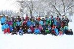 Teilnehmer, Kursleiter u. Helfer der Winterfreizeit 2015